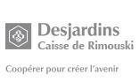 Logo de Desjardins, Caisse de Rimouski